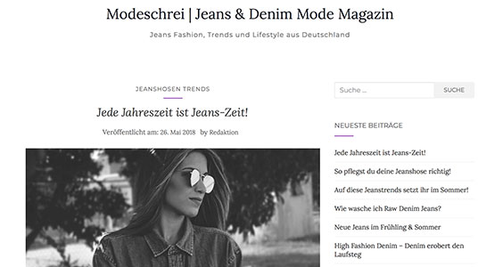 Mode Blog Modeschrei.de